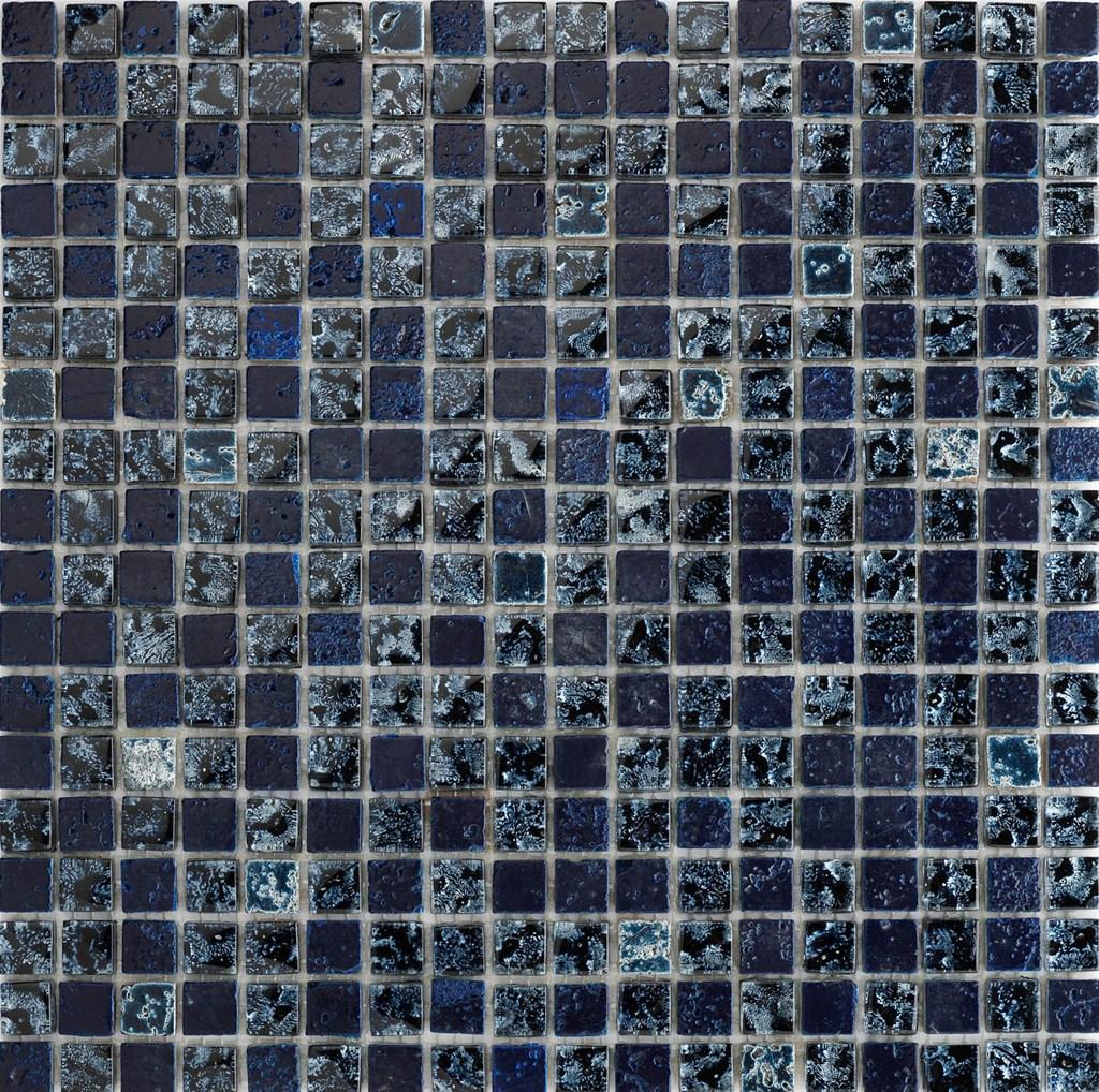 Doccia Mosaico Blu: Soluzione rivestimento bagno, con doccia senza ...