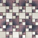 Mosaics Texture Series Texture Wood Purple