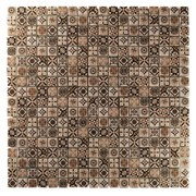 Mosaici Serie Decor Decor Brown