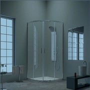 Shower enclosures Basic series Round shower box DBT