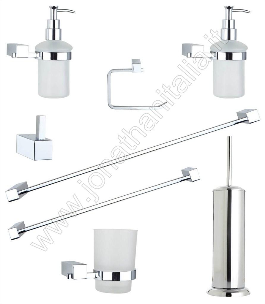 Accessori da bagno serie claudia for Accessori da bagno