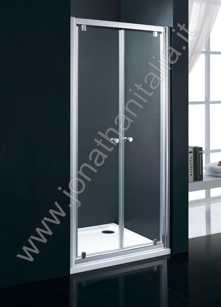 Box doccia box doccia in cristallo temperato serie for Porta a libro apertura esterna