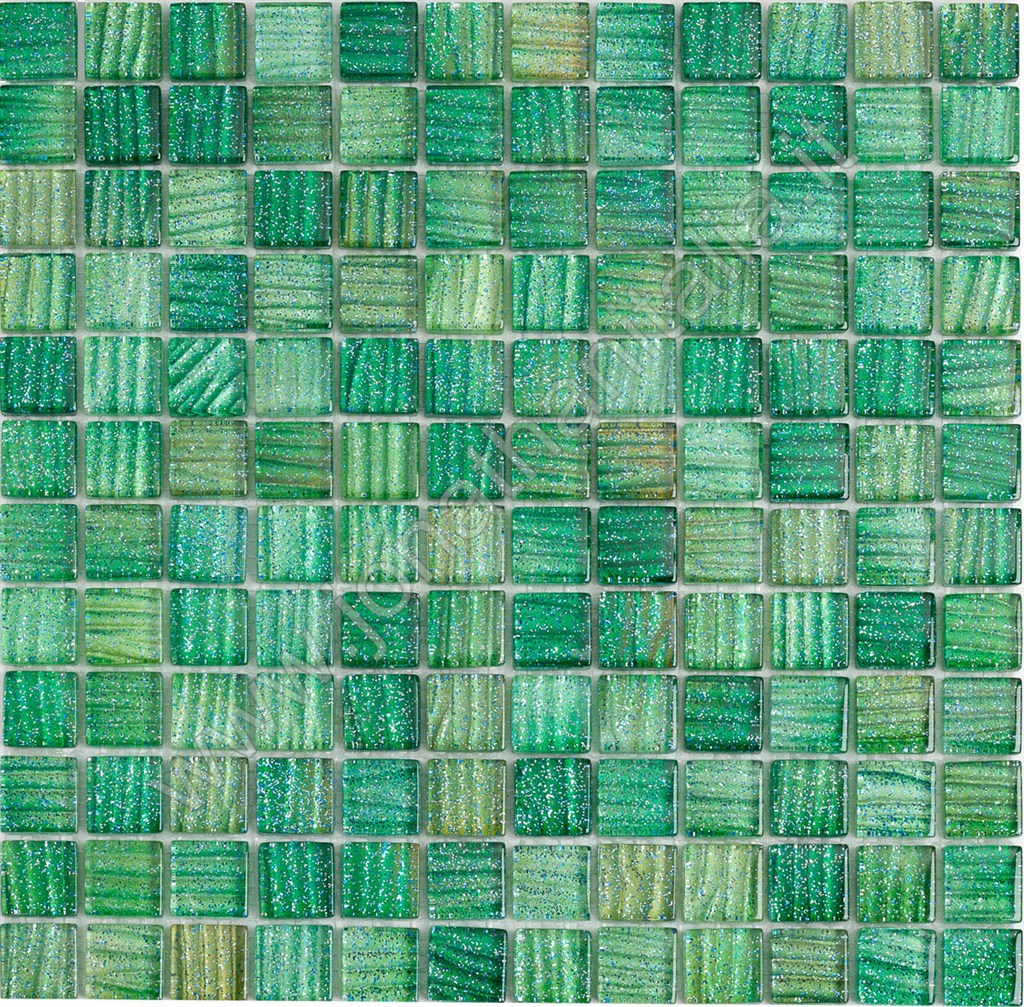Mosaici Mosaici Serie Stripe Mosaico Stripe Verde