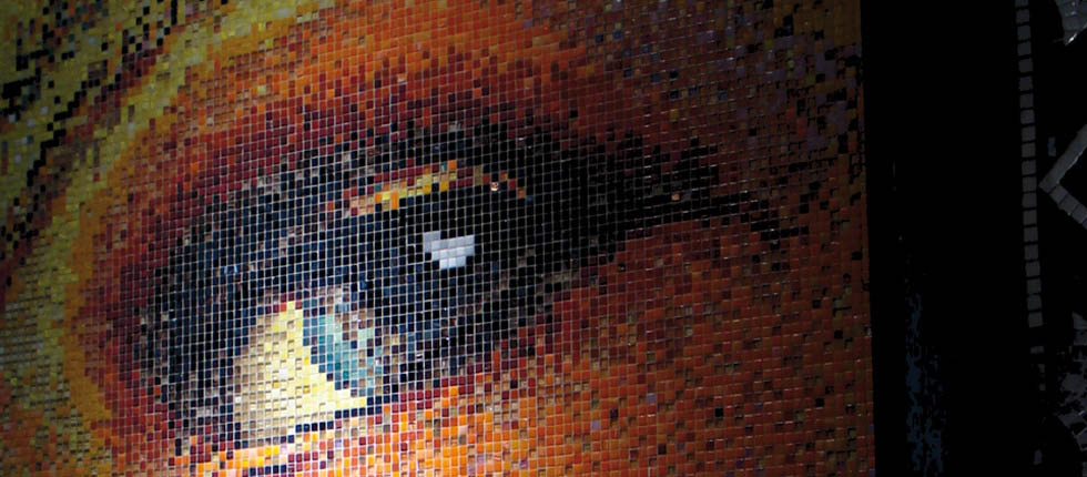 Arredo Box Doccia Con Mosaico Grigio ~ Ispirazione design casa